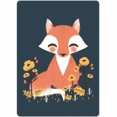 Petite carte les Animignons le renard (10,5 x 14,8 cm)