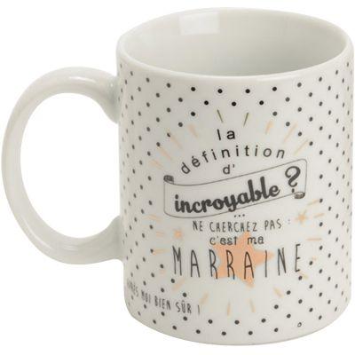 Mug Marraine incroyable  par Amadeus