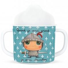 Tasse à bec Quand je serai grand je serai chevalier
