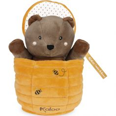 Marionnette cache-cache ours Ted Kachoo