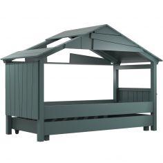 Lit cabane Star avec tiroir finition laquée (8 coloris au choix)