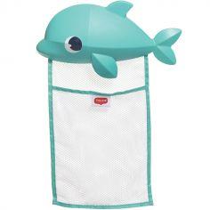 Filet de rangement jouets de bain dauphin