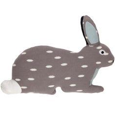 Coussin doudou lapin (40 x 50 cm)