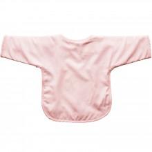 Bavoir à manches Pink Bows   par Les Rêves d'Anaïs