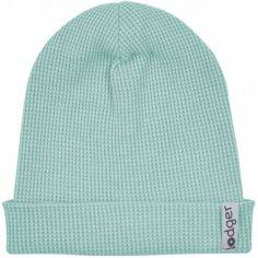 Bonnet en coton Ciumbelle Silt Green vert d'eau (6-12 mois)