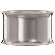 Rond de serviette Contemporaine personnalisable (métal argenté)