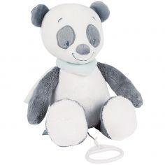 Doudou musical à suspendre panda Loulou (30 cm)