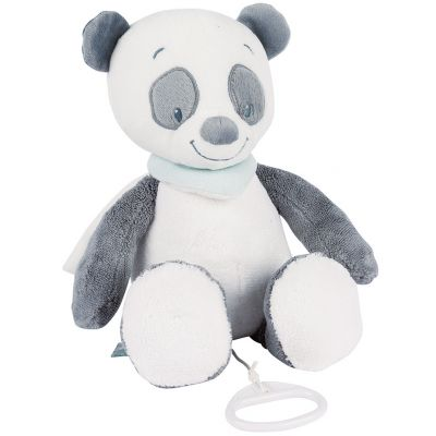 Doudou musical à suspendre panda Loulou (30 cm) Nattou