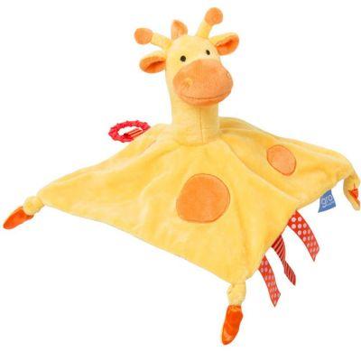 Doudou plat Gro friends Gerri la girafe (30 cm) The Gro Company