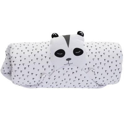 Couverture Ma couverture doudou panda blanc (80 x 80 cm) Minene
