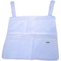 Vide-poches à suspendre Beryl bleu