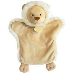 Doudou marionnette Lion