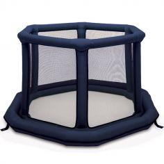 Parc bébé gonflable rond bleu (140 cm)
