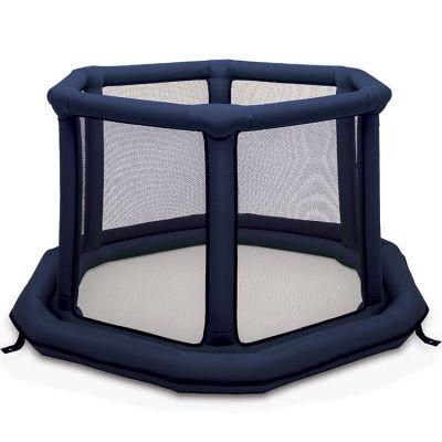 Parc bébé gonflable rond bleu (140 cm) EverEarth