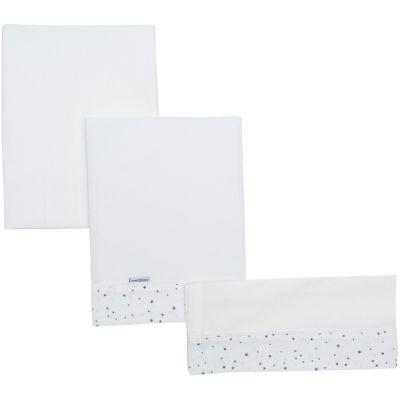 Parure pour berceau Astra étoiles grises (80 x 120 cm)  par Cambrass