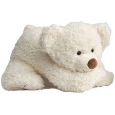 Peluche géante Pat'ours blanc (65 cm)