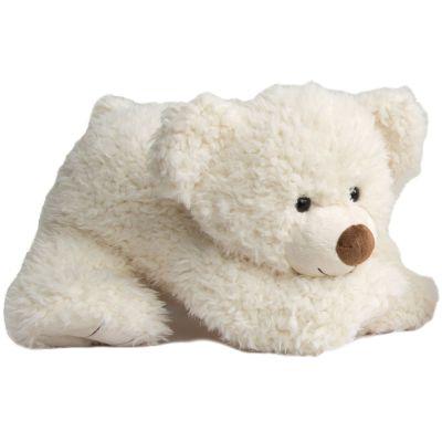 Peluche géante Pat'ours blanc (65 cm)  par Histoire d'Ours