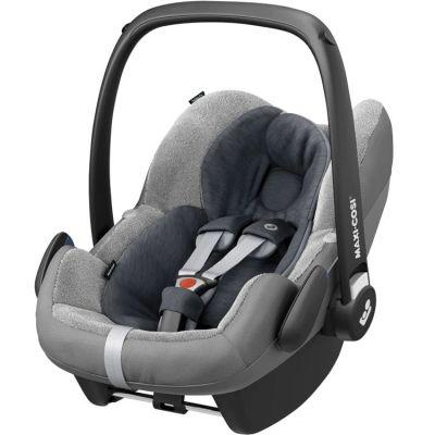 Housse en éponge pour siège auto Cabriofix Essential noir (groupe 0+)  par Bébé Confort