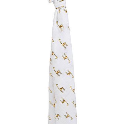 Maxi lange girafe Jungle Jam (120 x 120 cm)  par aden + anais