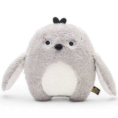 Peluche pingouin Ricekating gris (18 cm) Noodoll