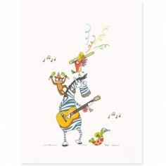 Affiche Boogie woogie (30 x 40 cm)