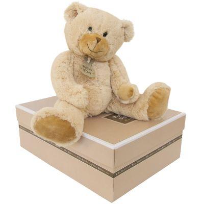 Peluche Calin'ours Les Ours beige (25 cm) Histoire d'Ours