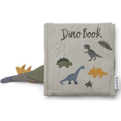 Livré bébé en tissu Dennis Dino vert d'eau  par Liewood