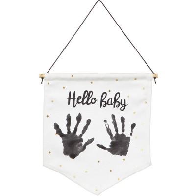 Kit d'empreintes Mon petit drapeau Baby Art