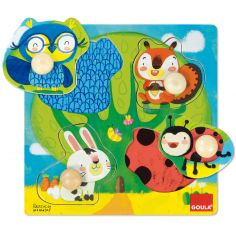 Puzzle à encastrement Animaux de la forêt (4 pièces)