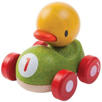 Ducky le caneton de course  par Plan Toys