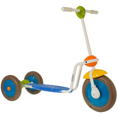 Trottinette Scooter bleu, vert, orange Italtrike