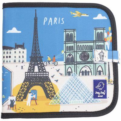 Livre à dessiner Paris Cities of Wonder  par Jaq Jaq Bird