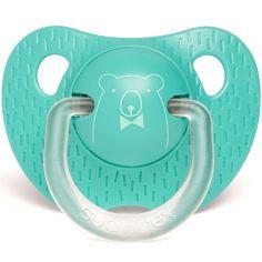 Sucette physiologique Ours vert d'eau (6-18 mois)