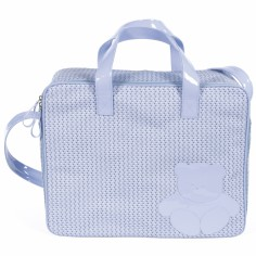 Valise de maternité Sophie bleu