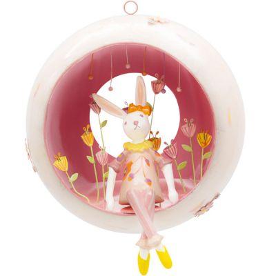 Mobile décoratif Les capsulettes Lapin  par L'oiseau bateau