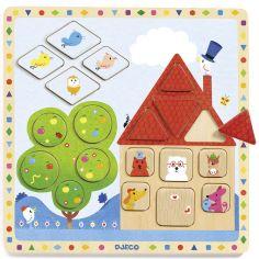 Puzzle à encastrer Ludigeo (18 pièces)