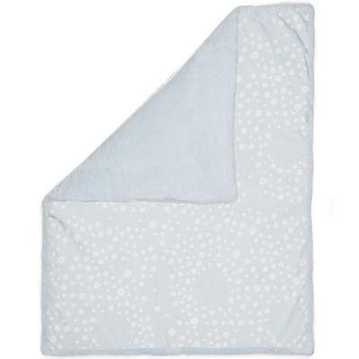 couverture en coton cloudy blue 100 x 150 cm snoozebaby. Black Bedroom Furniture Sets. Home Design Ideas