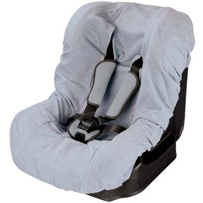 housse de si ge auto ponge grise tin o berceau magique. Black Bedroom Furniture Sets. Home Design Ideas