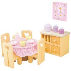 Salle à manger Sugar Plum pour maison de poupée