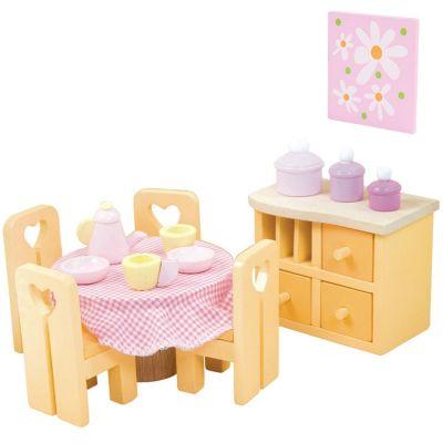 Salle à manger Sugar Plum pour maison de poupée  par Le Toy Van