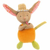 Hochet lapin Les Tartempois (20 cm) - Moulin Roty
