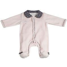 Pyjama chaud Miss Fleur de Lune rose (Naissance)