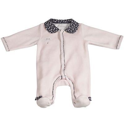 Pyjama chaud Miss Fleur de Lune rose (Naissance)  par Sauthon