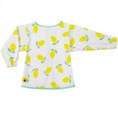 Bavoir manches longues Happy lemon