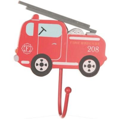 Patère camion de pompier  par sass & belle