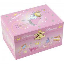 Boîte à bijoux musicale Princesse  par Trousselier