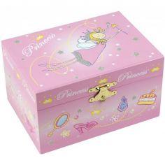 Boîte à bijoux musicale Princesse