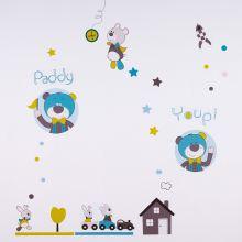Sticker mural Paddy  par Sauthon