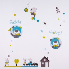 Sticker mural Paddy