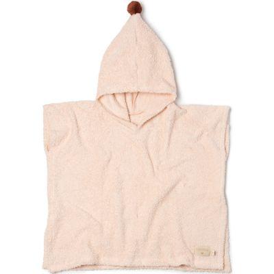 Poncho de bain rose pâle So cute (3-5 ans)  par Nobodinoz